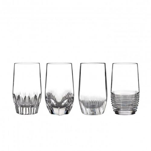 Waterford Mixology Set of 4 Clear Hi Balls